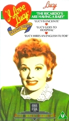 """I Love Lucy"" - British VHS movie cover (xs thumbnail)"