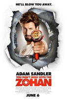 You Don't Mess with the Zohan - Movie Poster (xs thumbnail)
