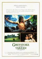 Greystoke - Spanish Movie Poster (xs thumbnail)