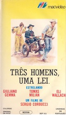 Il bianco, il giallo, il nero - Brazilian VHS movie cover (xs thumbnail)