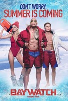 Baywatch - British Movie Poster (xs thumbnail)