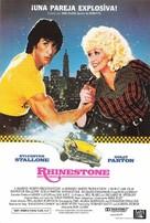 Rhinestone - Spanish Movie Poster (xs thumbnail)