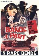 Bande à part - Belgian Movie Poster (xs thumbnail)