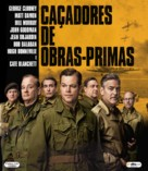 The Monuments Men - Brazilian Blu-Ray cover (xs thumbnail)