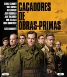 The Monuments Men - Brazilian Blu-Ray movie cover (xs thumbnail)
