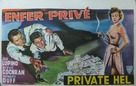 Private Hell 36 - Belgian Movie Poster (xs thumbnail)