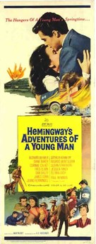 Hemingway's Adventures of a Young Man - Australian Movie Poster (xs thumbnail)