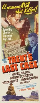 Trent's Last Case - Movie Poster (xs thumbnail)