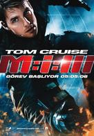 Mission: Impossible III - Turkish Movie Poster (xs thumbnail)