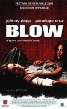 Blow - French VHS movie cover (xs thumbnail)
