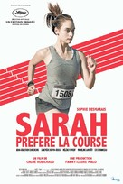 Sarah préfère la course - French Movie Poster (xs thumbnail)