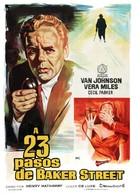 23 Paces to Baker Street - Spanish Movie Poster (xs thumbnail)