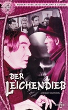 The Body Snatcher - German VHS movie cover (xs thumbnail)