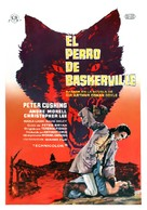 The Hound of the Baskervilles - Spanish Movie Poster (xs thumbnail)