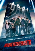 Attack the Block - Argentinian DVD movie cover (xs thumbnail)