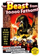 The Beast from 20,000 Fathoms - DVD cover (xs thumbnail)