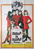 Here We Go Round the Mulberry Bush - Swedish Movie Poster (xs thumbnail)