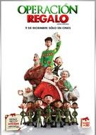 Arthur Christmas - Mexican Movie Poster (xs thumbnail)