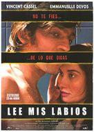 Sur mes lèvres - Spanish Movie Poster (xs thumbnail)