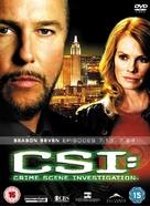 """CSI: Crime Scene Investigation"" - British DVD movie cover (xs thumbnail)"