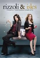 """Rizzoli & Isles"" - Spanish DVD cover (xs thumbnail)"