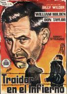 Stalag 17 - Spanish Movie Poster (xs thumbnail)