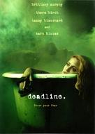 Deadline - DVD movie cover (xs thumbnail)