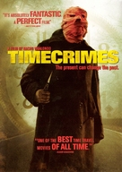 Los cronocrímenes - DVD movie cover (xs thumbnail)