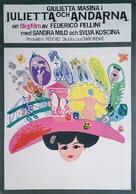 Giulietta degli spiriti - Swedish Movie Poster (xs thumbnail)