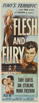 Flesh and Fury - Movie Poster (xs thumbnail)
