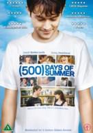 (500) Days of Summer - Danish Movie Cover (xs thumbnail)