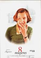 8 femmes - Spanish Movie Poster (xs thumbnail)