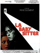 La baby sitter - French Movie Poster (xs thumbnail)