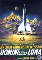 Destination Moon - Italian Movie Poster (xs thumbnail)