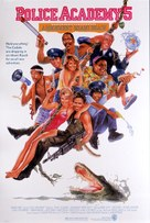 Police Academy 5: Assignment: Miami Beach - Movie Poster (xs thumbnail)