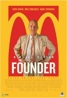 The Founder - South African Movie Poster (xs thumbnail)