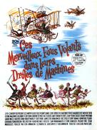 Those Magnificent Men In Their Flying Machines - French Movie Poster (xs thumbnail)