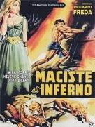 Maciste all'inferno - Italian DVD cover (xs thumbnail)
