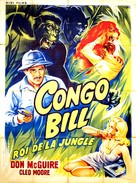 Congo Bill - French Movie Poster (xs thumbnail)