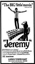 Jeremy - Movie Poster (xs thumbnail)