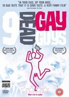 9 Dead Gay Guys - British DVD cover (xs thumbnail)