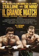 Grudge Match - Italian Movie Poster (xs thumbnail)