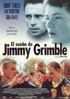There's Only One Jimmy Grimble - Spanish Movie Poster (xs thumbnail)