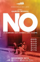 No - Mexican Movie Poster (xs thumbnail)