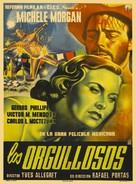 Orgueilleux, Les - Mexican Movie Poster (xs thumbnail)