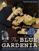 The Blue Gardenia - British DVD movie cover (xs thumbnail)