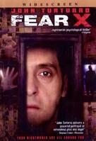 Fear X - DVD cover (xs thumbnail)