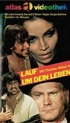 Corri uomo corri - German VHS cover (xs thumbnail)
