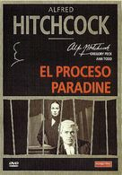 The Paradine Case - Spanish DVD movie cover (xs thumbnail)