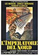 Emperor of the North Pole - Italian Movie Poster (xs thumbnail)